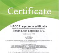 Certificaat - HACCP (1)