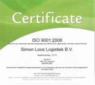Certificaat - ISO 9001;2008 (1)