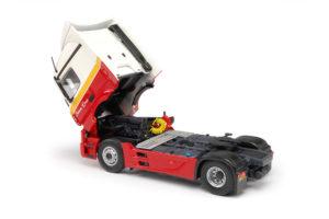 Tekno-miniatuur schaal 1:50 - Mercedes-Benz Actros small Streamspace met koeloplegger