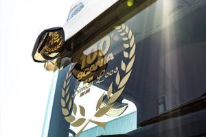 Honderdste Scania voor Simon Loos