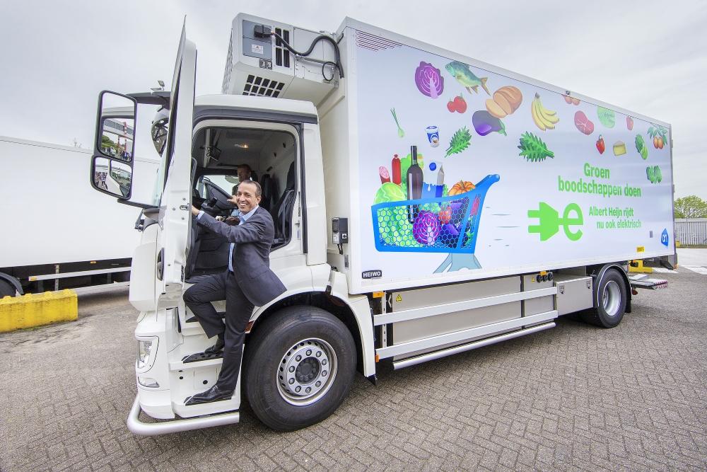 Eerste e-trucks voor AH