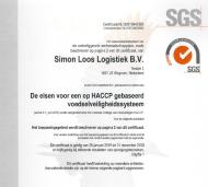 Certificaat - HACCP