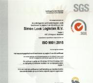 Certificaat - ISO