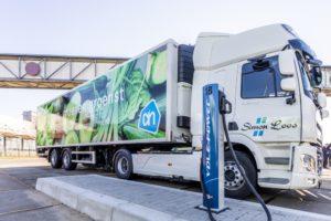 Elektrische truck Simon Loos voor AH