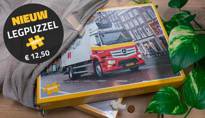 Legpuzzel-banner
